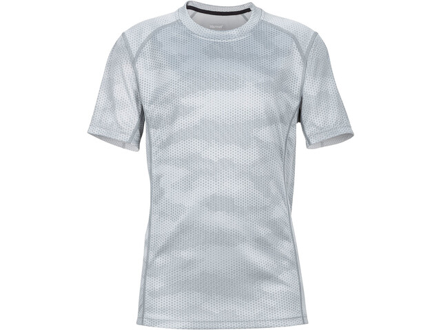 Marmot Cyclone T-shirt Garçon, bright steel hide